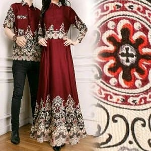 Baju Muslim Batik Couple Vina Tokopedia