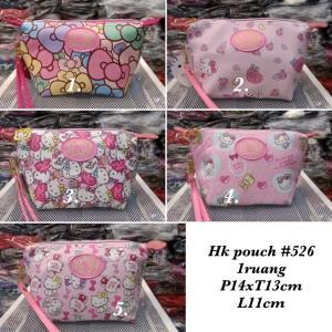 Tas Kosmetik Hello Kitty Import Premium 526pouch Tokopedia