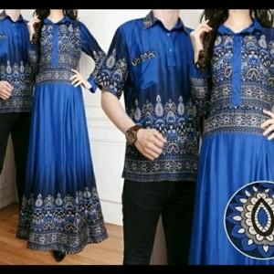 Baju Muslim Batik Couple Fatma Tokopedia