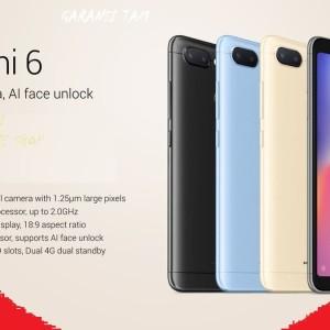 Xiaomi Redmi 6 Ram 3gb Internal 32gb Distributor Global Version Tokopedia