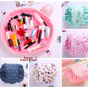 Tas Kosmetik Korean Travel Pouch Organizer Multifungsi Tokopedia