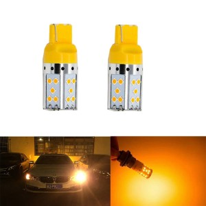Lampu Sein LED EXTREME MONSTER T20 7440 1 kaki Kuning Amber