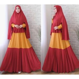 Baju Jumbo Gamis Muslim Tokopedia