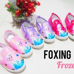 Sepatu Anak Perempuan Foxing Import Frozen Tokopedia