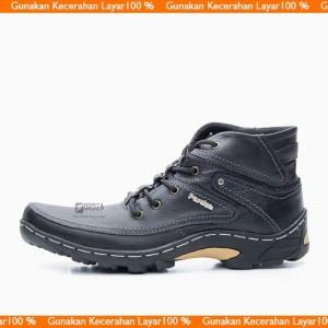 Sepatu Boots Pria Bks01tp Tokopedia