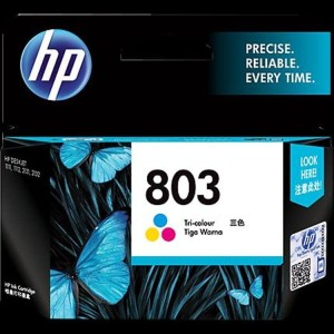 Ink Cartrdige Hp Hp 803 Colour Cpt Tokopedia