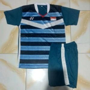 Kaos Badminton Anak Baju Tenis Voly Tenis Meja Mancing Pingpong Motif Lining Junior Tokopedia