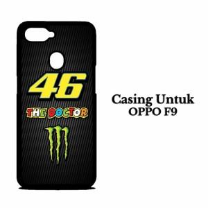 Casing HP OPPO F9 rossi vr46 monster Hardcase Custom Case Cover