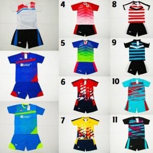 Setelan Badminton Ukuran Anak Anak Baju Kostum Olahraga Bulutangkis Timnas Junior Tokopedia
