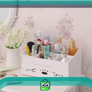 Rak Kosmetik Warna Putih Cosmetic Storage Accessories Organizer R31 Tokopedia