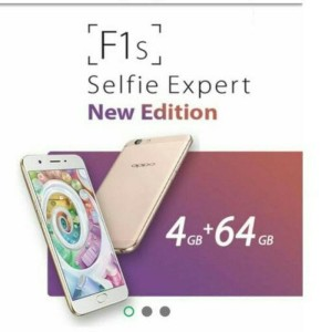Oppo F1s Ram 4gb Internal Memory 32gb Free Case Tokopedia