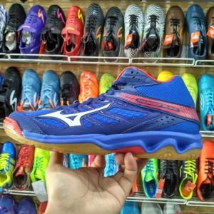 Sepatu Volly Volley Mizuno Thunder Blade Mid Tokopedia