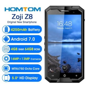Hp Outdoor Homtom Zoji Z8 Ram4gb Internal 64gb New Bnob Tokopedia