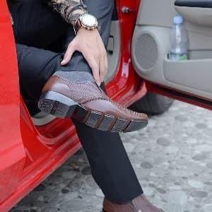 Sepatu Kulit Pria 9906 Tokopedia