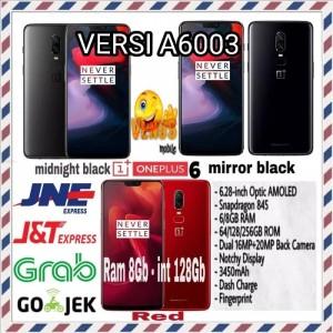 One Plus 6 128gb Ram 8gb Rom 128 Gb Oneplus 6 Tokopedia