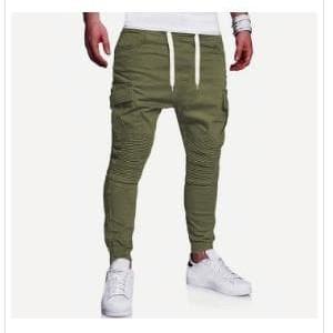 Fashion Pria Celana Pria Jogger Pants Pinggang Karet Celana Training Sweatpants Tokopedia