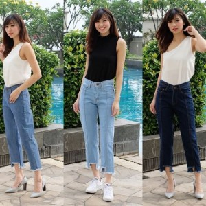 Celana Panjang Wanita Premium Pants Tokopedia