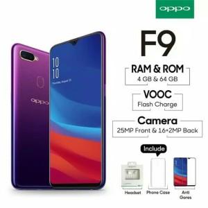 Handphone Hp Android Oppo F9 Ram 6 Gb Rom 64 Gb Tokopedia