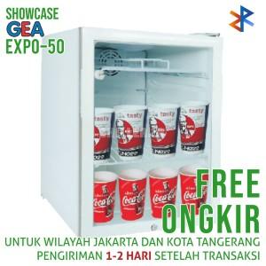 Showcase GEA EXPO-50 52 Liter Display Cooler Free Ongkir
