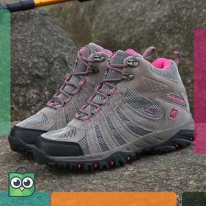 Sepatu Gunung Snta 606 Original Wanita Sepatu Outdoor Sepatu Hiking Sepatu Sport Tokopedia