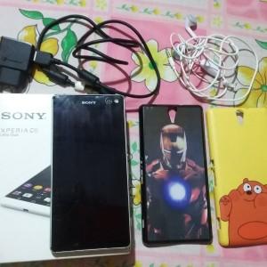 Hp Second Sony C5 Ultra Dual E5563 Grs Resmi Tam Fullset Tokopedia