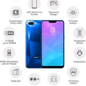 Oppo Realme 2 Diamond Blue Tokopedia