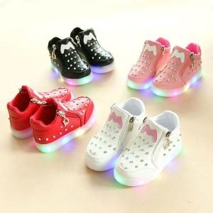 Sepatu Swaroski Sepatu Lampu Anak Tokopedia