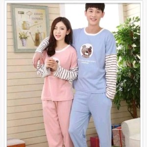 Couple Pp Piyama Salur2 Tokopedia
