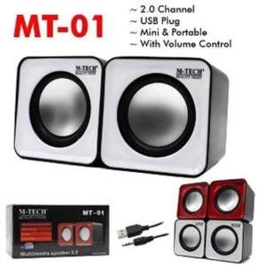 Speaker Portable Komputer Dan Laptop Mt 02 Usb Tokopedia