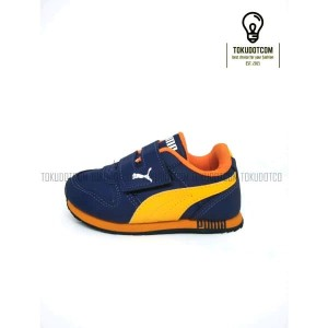 Sepatu Sekolah Anak Sport Murah Biru Navy Tokopedia