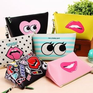 Ready Stock Tas Kosmetik Dompet Make Up Dompet Kosmetik Cube Pouch Tokopedia