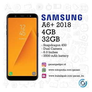 Samsung Galaxy A6 Plus 2018 Resmi Sein Tokopedia
