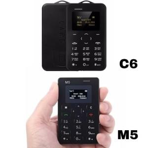Aiek C6 Aeku C6 Hp Atm Tipis Card Phone Bukan Aiek M5 Tokopedia