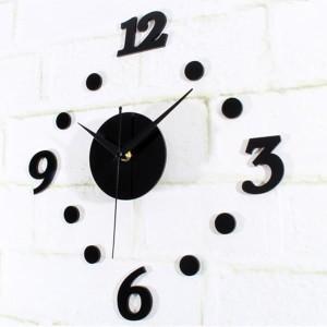 Jam Dinding Unik Diy 30 50cm Diameter Tokopedia