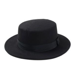 Jual Topi Fendora Impor 10 Warna Pria Wanita Fedora Topi Datar Kubah Oval T 5bce248635