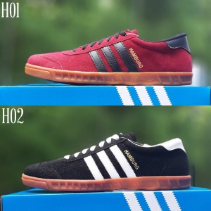Sepatu Pria Adidas Hamburg Sneakers Kets Casual Tokopedia