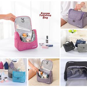 Korean Toiletries Bag Travelbag Tas Kosmetik Perlengkapan Mandi Tokopedia