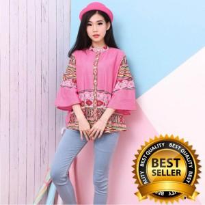 Baju Batik Atasan Wanita Batik Blouse Tokopedia