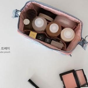 New Charming Water Resistant Cosmetic Cube Pouch Tas Kosmetik Diskon Tokopedia
