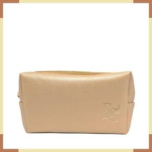 Beauty Gum Pouch Kosmetik Kulit Waterproof Navy Blue Tokopedia