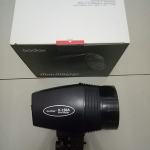 Godox Mini Master K-150A Lampu Flash Studio 150 Watt