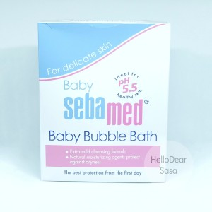 Sebamed Baby Bubble Bath 200ml Harga Promo Tokopedia