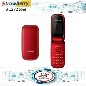 Handphone Strawberry S1272 Flip Model Tokopedia