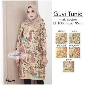 Atasan Batik Wanita Tunik Batik Baju Batik Wanita Tokopedia