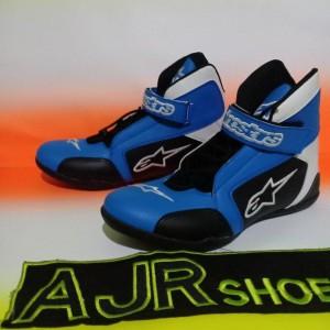Sepatu Drag Alpinestar K3 Biru Tokopedia