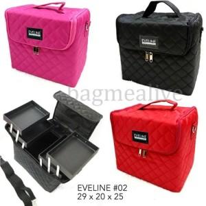 Dijual Beauty Case Tempat Makeup Kotak Kosmetik 005 Hitam Diskon Tokopedia