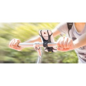 Holder Hp Motor Flexo Grip Black Tokopedia