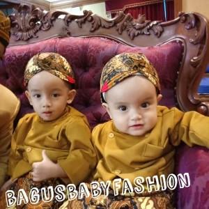Baju Anak Kostum Jawa Setelan Beskap Bayi dan Anak