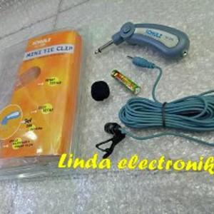 Mic Mini Clip On Bisa Pc Laptop Smartphone Tokopedia