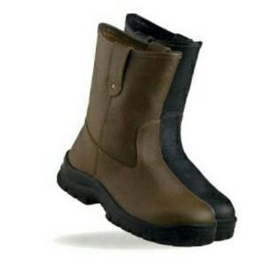 Sepatu Safety Krushers Texas Coklat Tokopedia
